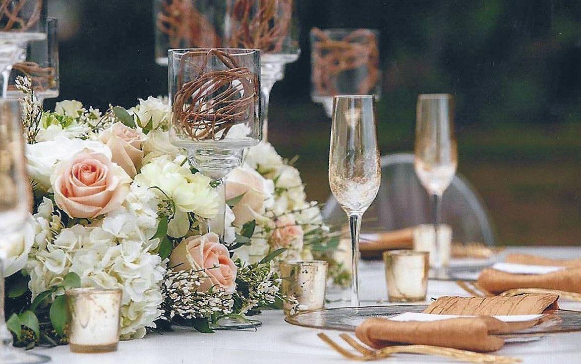 peach flowers – Weddings By Bakanas